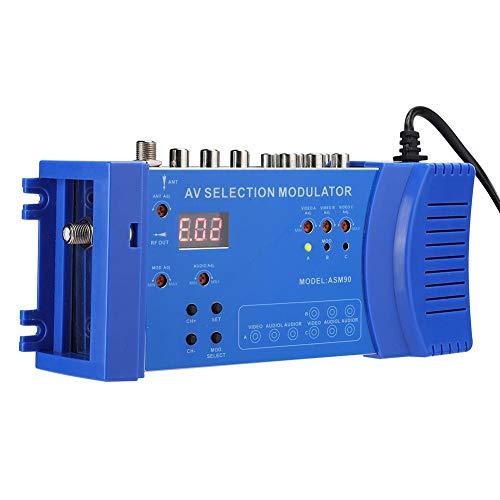 Ccylez Modulador Digital RF HDMI, modulador portátil de Doble Banda VHF/UHF, convertidor portátil estándar PAL/NTSC, modulador AV múltiple Opcional para TV, PC, DVD