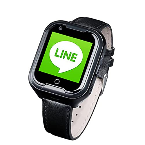 FVIWSJ Impermeable GPS Smartwatch paraNiños/Mayores,IP67 Reloj Inteligente con GPS LBS Tracker SOS Chat Voz Cámara Podómetro Watch Niño niña Compatible con iOS Android