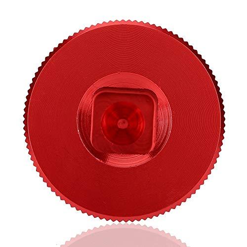 Jacksking Putter-Gewicht-Schlüssel-Werkzeug, 2 Farben-rundes Golf-Schraubenschlüssel-Schlüssel-Werkzeug für Scotty Cameron Putter(rot)