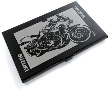 ブラックアルマイト「スズキ(SUZUKI) カタナ GSX1100S」切り絵デザインのカードケース