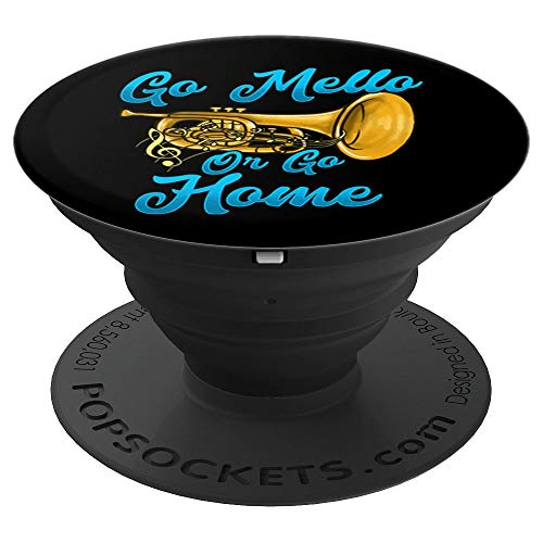 Funny Mellophone Players Gift Shirts Marching Band Members PopSockets Grip and Stand for Phones and Tablets
