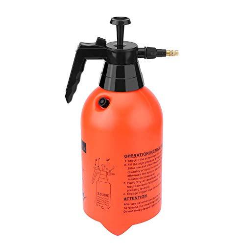 Mumusuki Bomba pulverizadora portátil de presión de Agua de Mano 3L / 2L Fácil de Disparar Home Garden Plant Riego Botella química Botella(3L)
