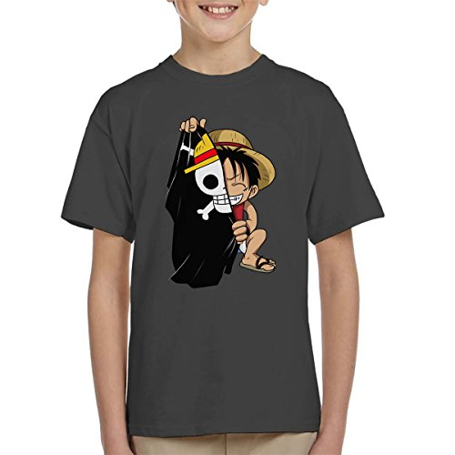 Monkey D Luffy Flag One Piece Kid's T-Shirt