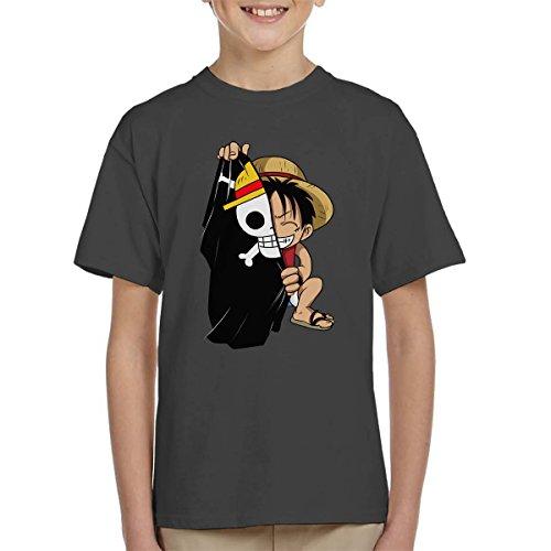 Monkey D Luffy Flag One Piece Kid's T-Shirt