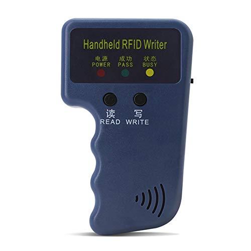 Phoetya Zugangskontrollkarten-Replikator, 125 kHz, EM4100, tragbar, RFID-Ausweis, Kopierer, Leser/Kopierer, geeignet für Schule, Büro