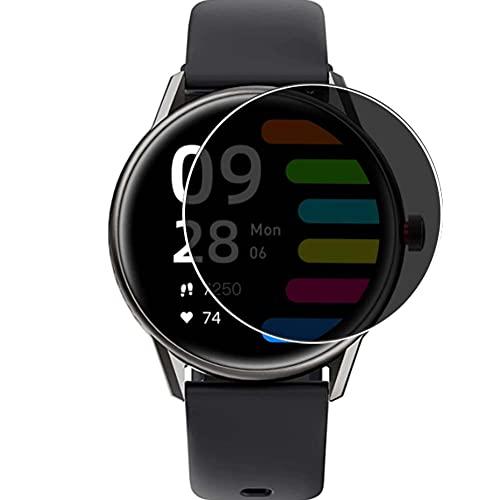Vaxson TPU Pellicola Privacy, compatibile con SoundPEATS PRO 1 Smart watch smartwatch, Screen Protector Film Filtro Privacy [ Non Vetro Temperato ]