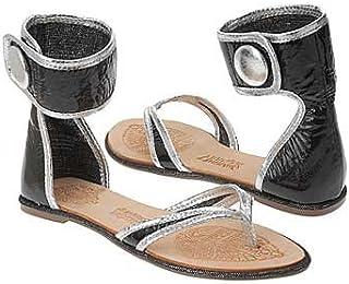 Naughty Monkey Women's Money Maker Sandal,Black,7 M