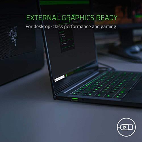Razer Blade Stealth 13 Ultrabook Gaming Laptop: Intel Core i7-1065G7 4 Core, NVIDIA GeForce GTX 1650 Max-Q, 13.3