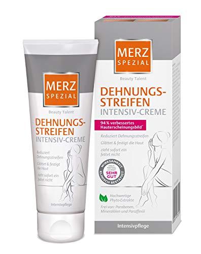 Merz Spezial Dehnungsstreifen Intensiv-Creme - Spezielle Intensivpflege zur Reduktion von Dehnungsstreifen, verbessert das Erscheinungsbild der Haut – 1 x 75 ml