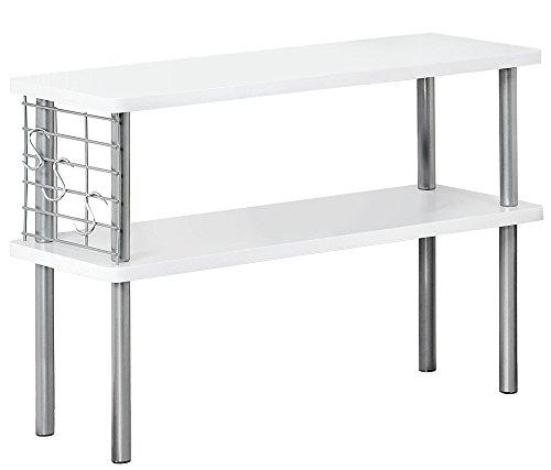KESPER Küchen-Regal 27821 mit Utensilienaufhängung/Küchenregal/Etagenregal