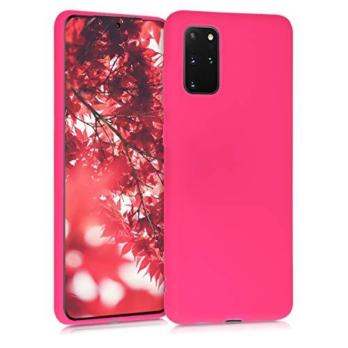 kwmobile Hülle für Samsung Galaxy S20 Plus - Hülle Handyhülle - Handy Hülle in Neon Pink