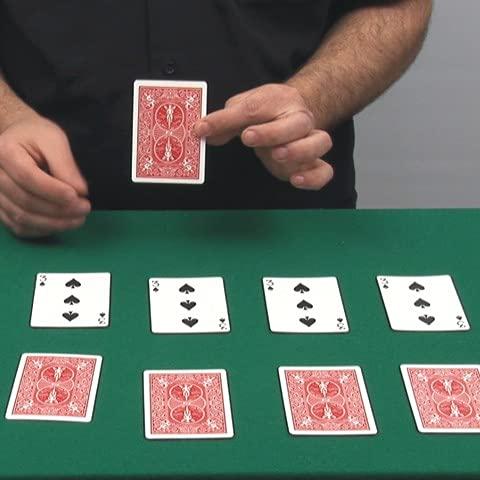Doble Transformación - Juego de Magia con explicaciones en vídeo. Mucho más fáciles de comprender. Desplaza la Imagen a la Izquierda y podrás Ver una demostración en vídeo.