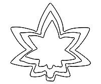 アズワン 厚口野菜抜 3PC 紅葉/62-8228-22
