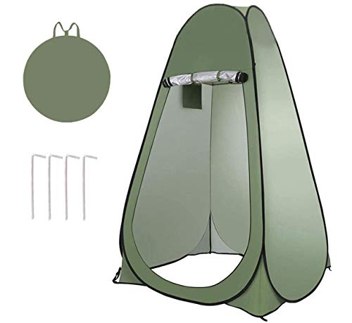 Duschzelt Pop Up, Xndryan Strand Umkleidezelt Camping WC Zelt Dusche Privatsphäre Zelt, Ideal als Outdoor Umkleideanlage Badezimmer