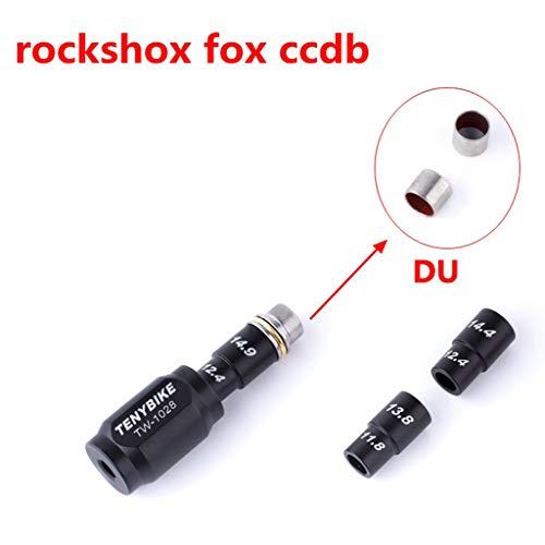 HomeDecTime Bike DU Bushing Removal Rear Shock Bearing Extractor Installer Press Kit