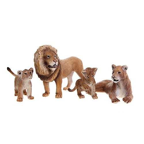 Schleich Lion Family Scenery Pack