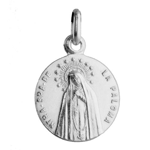 SACRE COEUR - Medalla de Nuestra Señora de la Paloma o Virgen de la Paloma   Plata Primera Ley   Patrona Popular de Madrid y de los Bomberos