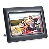 AGFA Photo Realiview APF700 – Cornice portafoto digitale 7 pollici (LED 1024 x 600, visualizzazione foto, orologio, calendario, programmabile, colore: nero