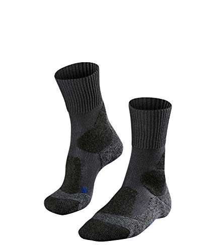 FALKE Herren TK1 Cool M SO Wandersocken, Grau (Asphalt Melange 3180), 42-43 (UK 8-9 Ι US 9-10)