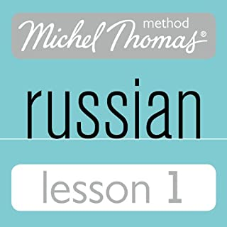 Michel Thomas Beginner Russian, Lesson 1                   By:                                                                                                                                 Natasha Bershadski                               Narrated by:                                                                                                                                 Hodder & Stoughton                      Length: 1 hr and 16 mins     12 ratings     Overall 3.8