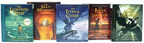 Percy Jackson and the Olympians books 1 5 CD Collection product image