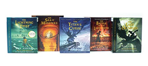 Percy Jackson and the Olympians books 1-5 CD Collection