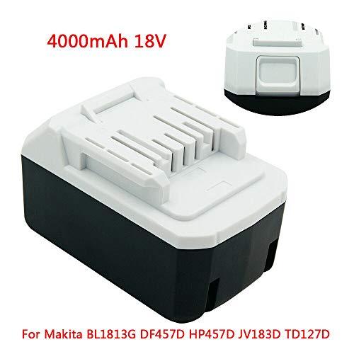 Preisvergleich Produktbild 18V 4.0Ah Rechargebale Li-Ion BL1813G Akku für Makita BL1815G BL1811G CL183D