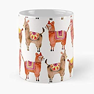 Alpacas Llamas Alpaca Llama - Unique Gift Ideas For Her From Daughter Or Son Cool Novelty Cups 11 Oz.