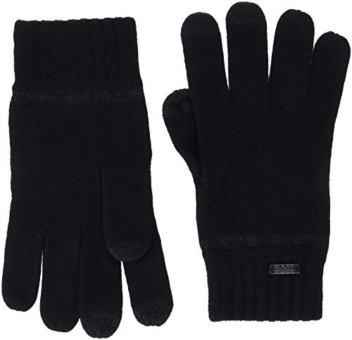 BOSS Herren Gritz Handschuhe, Schwarz (Black 001), One Size (Herstellergröße: STÜCK)