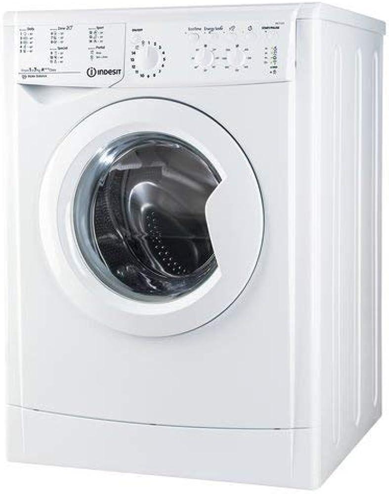 Indesit - lavatrice a carica frontale 7 kg classe a+++ centrifuga 1200 giri F095305