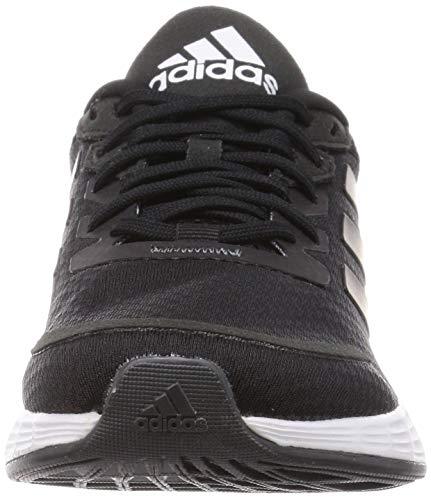 adidas Duramo SL, Zapatillas de Running Mujer, Core Black/Core Black/Grey Six, 38 2/3 EU