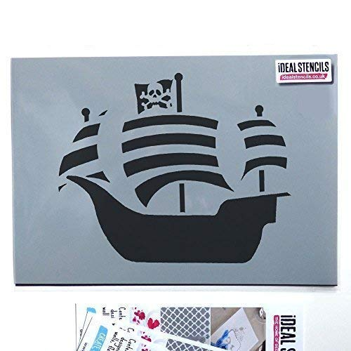 Garçons Robot Home Decor pochoir peinture murs tissus ameublement Idéal Pochoirs Ltd