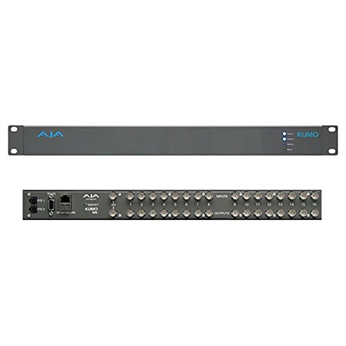 Buy Bargain AJA Kumo 16x16 Compact SDI Routers with SD, HD, 3G SDI Inputs and Outputs Via BNC, SMPTE...