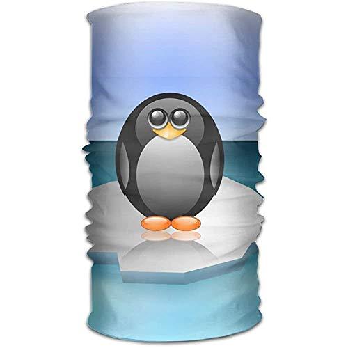 Gcaibai Polo Norte Pingüino Lindo Iceberg Estampado Headwrap Diadema Bufanda de Cuello Do Rag Cap Bandana Tocado Suave Cuello Polaina