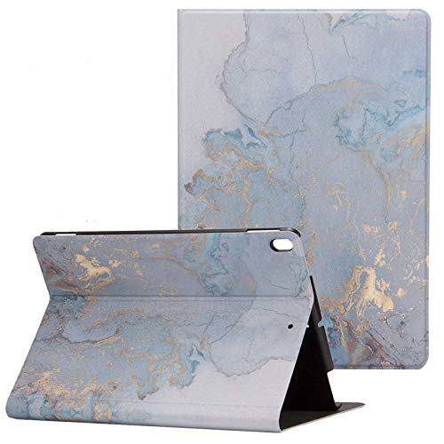 New iPad 10.2 2020 Case, Apple iPad 8th/7th Generation Case [Marble Map Series], Uliking PU Leather Shockproof Shell Stand Smart Cover with Auto Wake/Sleep for Apple iPad 10.2' 2020/2019, Gold