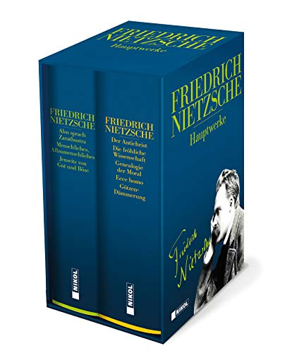 Friedrich Nietzsche: Hauptwerke: 2 Bände im Schuber: Also sprach Zarathustra - Menschliches, Allzumenschliches - Der Antichrist - Jenseits von Gut und Böse - und weitere