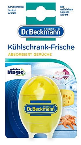 Dr. Beckmann Kühlschrank Frische Limone | Absorbiert Gerüche, schützt Aromen | mit natürlichem Limonenextrakt & Bio Alkohol | (40 g)