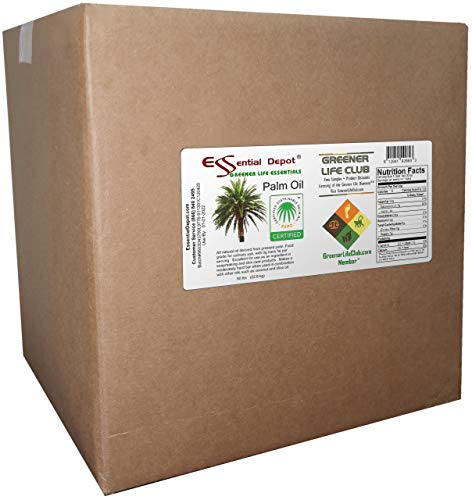 Palm Oil Shortening Cube - 50 lbs - No Stir - Food Grade - Kosher - SUSTAINABLE - RSPO Certified - Not Hydrogenated