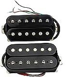Pastillas de Guitarra eléctrica Guitarra Humbucker Pickup Kit-Piezas De Repuesto para Cuello Y Puente Pastillas Duales para Stratocaster Guitarras Eléctricas