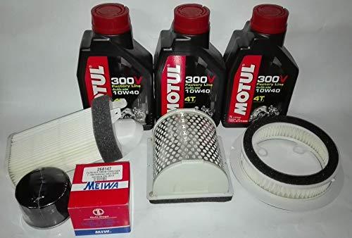 Kit révision huile + filtres pour Yamaha T-Max 500 de 2001 à 2007.