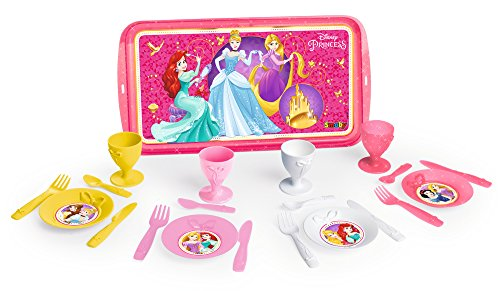 Smoby 310547 - Disney Princess Teeservice mit Tablett