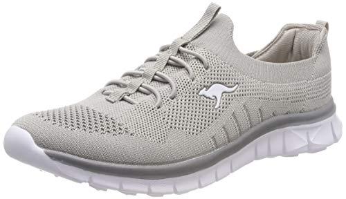KangaROOS Damen K-Run Mori Sneaker, Grau (Vapor Grey 2004), 40 EU