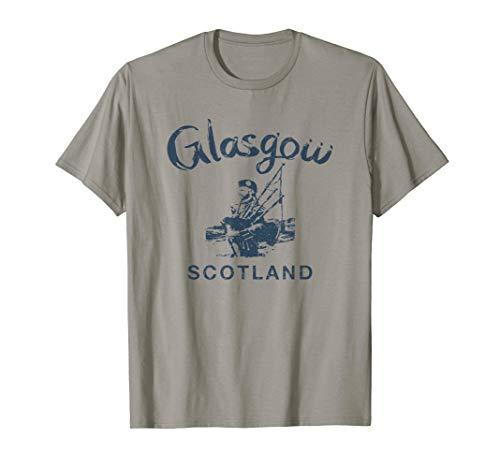 Vintage Coat of Arms Scotland Sudadera con Capucha Scottish Glasgow Souvenir
