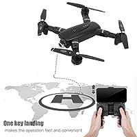 高解像度カメラドローンRCGPSドローングループアクティビティ子供キッズおもちゃギフト(Black 2.4G 720P, Insect)