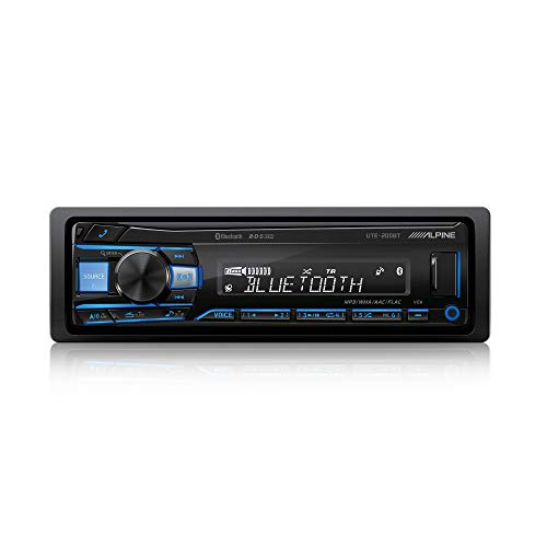 Alpine Electronics UTE-200BT Bluetooth Car Radio 1 DIN