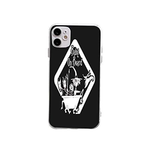 yiliusu-Funda para iPhone 12, diseño de pesadilla antes de la Navidad (contra el amarillamiento), delgada, pero a prueba de golpes, de silicona suave, resistente a los golpes