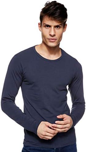 JACK & JONES Camiseta Manga Larga Cuello Redondo para Hombre