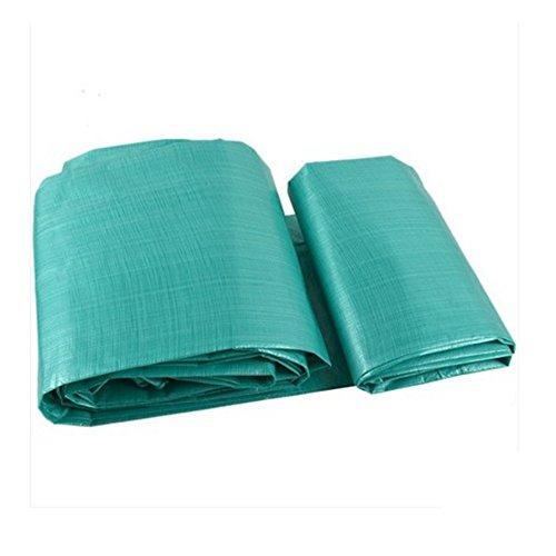 ZfgG Tarps Polyethyleen Waterdichte Dikke regenhoezen Tarpaulin Camping Tents - Perfect voor Backpacking, Camping, Shelter, schaduw, bodembedekking