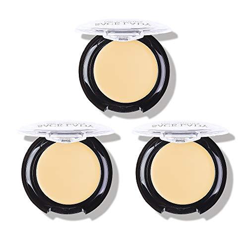 Full Coverage Concealer Cream Makeup, Waterproof Matte Smooth Concealer Corrector Long Lasting for Dark Spot Under Eye Circles Cover, 6g/0.2Oz (#30 Light Natural)