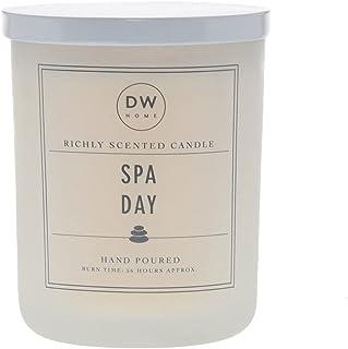 DW Home Candles キャンドル アロマキャンドル SPA DAY ジャーキャンドル 香り 大きい Lサイズ 15.3oz(432.5g) ダブルウィック 燃焼時間約56時間 dwcandles